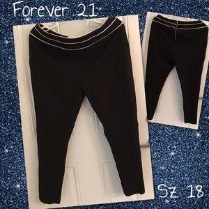 Forever 21 Plus Size Pants Sz 18